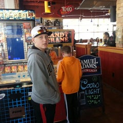 Photo taken at Red Robin Gourmet Burgers by Joe M. on 3/23/2013