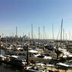 Photo taken at Elliott Bay Marina by Matthew L. on 3/30/2013