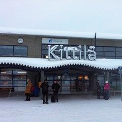 Photo taken at Kittilä Airport (KTT) by Alfred D. on 2/13/2013