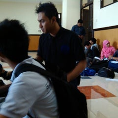 Photo taken at Gedung A FISIP by Oye M. on 1/16/2014