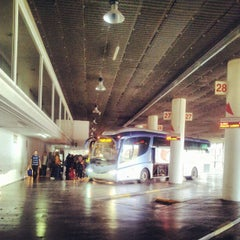 Photo taken at Estación Central de Autobuses by Valentí P. on 10/26/2012
