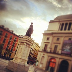 Photo taken at Plaza de Isabel II by Valentí P. on 10/21/2012