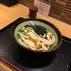 Photo taken at うどん たけよし by ALI A. on 10/3/2015