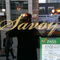 Photo taken at Savoy by Linden C. on 4/14/2013