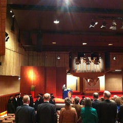 Photo taken at Vrije Universiteit - Hoofdgebouw by geheimtip ʞ. on 3/14/2013