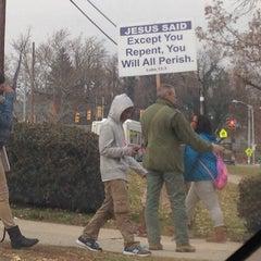 Photo taken at Edmondson High School by Andrew S. on 12/4/2013