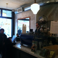 Photo taken at Cafe Madeline by Max H. on 1/11/2013