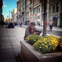 Photo taken at Большая Дмитровка by Prabhu Jap S. on 9/9/2013