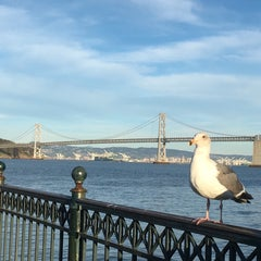Photo taken at Central Embarcadero Piers by Beatriz Z. on 2/7/2016