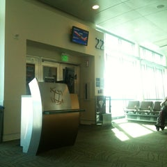 Photo taken at Gate 22 by Jim Y. on 6/2/2013