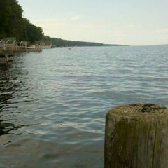 Photo taken at Cayuga Lake by Daniel G. on 7/4/2013