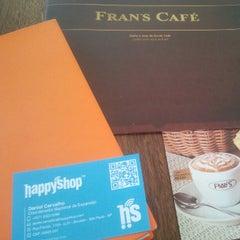 Photo taken at Fran's Café by Daniel C. on 11/23/2012