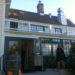 Photo taken at Farmstead at Long Meadow Ranch by Lily P. on 10/20/2012