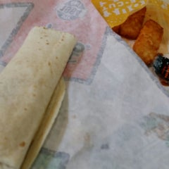 Photo taken at Del Taco by Mark B. on 3/21/2014