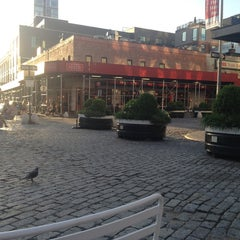 Photo taken at Gansevoort Plaza by Alexander L. on 6/4/2013