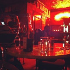 Photo taken at The Bourgeois Pig by Cindy T. on 1/17/2013