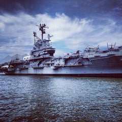 Photo taken at Intrepid Sea, Air & Space Museum by John B. on 8/10/2013