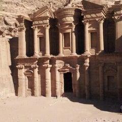 Photo taken at Petra البتراء by Kris G. on 12/19/2012