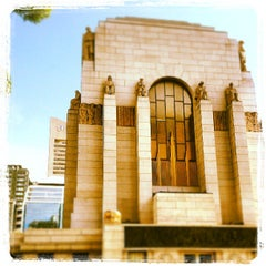 Photo taken at ANZAC War Memorial by Sean S. on 7/16/2013