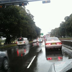 Photo taken at Anzac Parade by Sean S. on 5/23/2013
