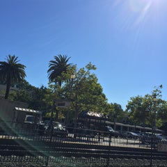 Photo taken at Menlo Park Caltrain Station by Olin M. on 6/29/2015