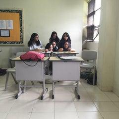 Photo taken at Mentari International School Bintaro by Russel Archival E. on 4/13/2016