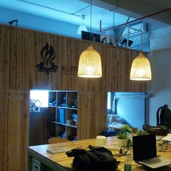 Photo taken at ChaiHuo 柴火 Hackerspace by Stephen F. on 5/23/2013