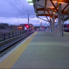 Photo taken at South Campus LRT Station by akreea on 5/16/2013