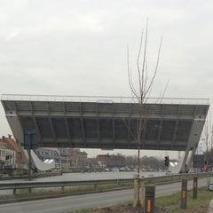 Photo taken at Scheepsdalebrug by Dries S. on 3/25/2013
