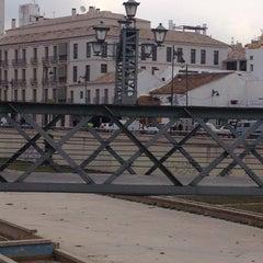 Photo taken at Puente de los Alemanes by Abraham N. on 3/20/2014