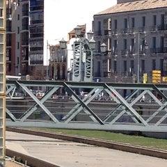 Photo taken at Puente de los Alemanes by Abraham N. on 2/22/2014