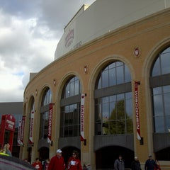 Photo taken at Camp Randall Stadium by Matt H. on 11/9/2013