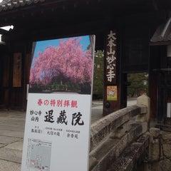 Photo taken at 妙心寺 南門 by Shin S. on 3/29/2014
