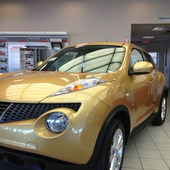 Photo taken at AutoNation Nissan Tempe by Michael T. on 1/16/2013