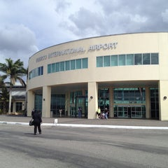 Photo taken at Piarco International Airport (POS) by Andres M. on 4/19/2013