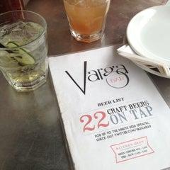 Photo taken at Varga Bar by Dee K. on 10/6/2012
