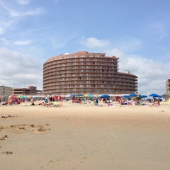Photo taken at 22nd Street Beach by Bernie H. on 8/20/2013