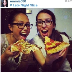 Photo taken at Late Night Slice by Maggie K. on 5/5/2013