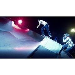 Photo taken at Wilson Skate Park by JB U. on 10/24/2013