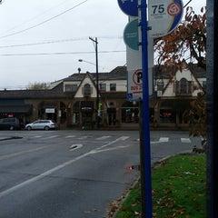 Photo taken at Bagel Land by Aaron J. on 11/18/2012