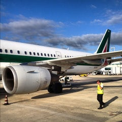 Photo taken at Terminal 1 by Dmitry S. on 9/16/2012