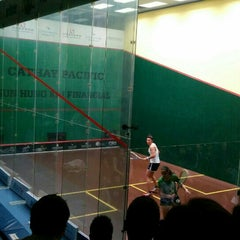 Photo taken at Hong Kong Squash Centre 香港壁球中心 by Lorraine S. on 12/4/2015