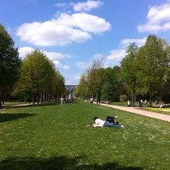 Photo taken at Zuidpark | Koning Albertpark by Eva S. on 5/5/2013