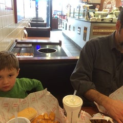 Photo taken at Jimmy John's by Kelly S. on 1/11/2014