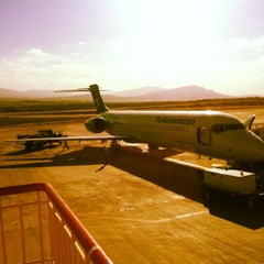Photo taken at Saparmurat Turkmenbashi International Airport (ASB) by Artem G. on 5/6/2013