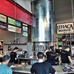 Photo taken at Ithaca Beer Co. Taproom by Josh H. on 7/17/2013