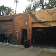 Photo taken at Holy City Brewing by Snapper C. on 4/4/2013