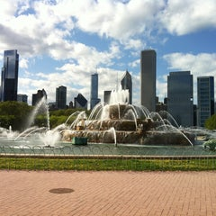 Photo taken at Grant Park by Jeff C. on 5/12/2013