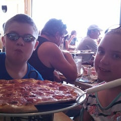 Photo taken at Grotto Pizza by Melissa O. on 6/9/2013