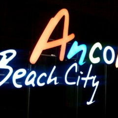 Photo taken at Ancol Beach by rachma ellpiana s. on 5/6/2013
